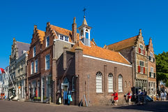 Historic houses in Veere, the Netherlands Stock Photography