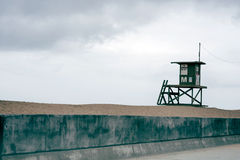 Life Guard Tower Stock Image