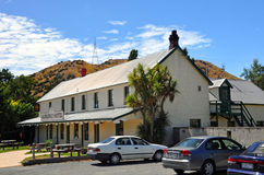 Historic Hurunui Hotel, North Canterbury, New Zealand Royalty Free Stock Photos