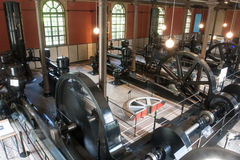 Historic Hydroelectric Power Station. Augsburg, Germany Stock Photos