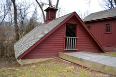 Historic ice house. An icehouse at Whitehaven, the historic home of Ulysses S. Grant and his wife Julia (Dent). The home is maintained as a National Park in St Royalty Free Stock Image