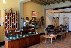 Interior of main room inside Starr Clark`s Tin Shop, Mexico, New York Royalty Free Stock Photo