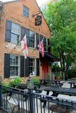 Historic image of Olde English Pub, set on main streets of Albany, New York, 2016 Stock Photography