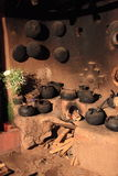 Historic Inca Kitchen Royalty Free Stock Photo