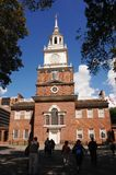 Historic Independence Hall Royalty Free Stock Photography