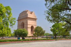 Historic India Gate Monument in Delhi. Royalty Free Stock Photos