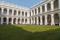 Historic Indian museum gothic architectural building at Kolkata, India Stock Photo