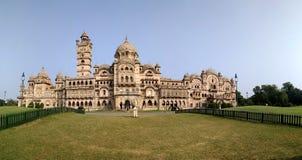 Historic Indian Palace of Vadodara. Historic Indian Palace Laxmi Vilas Palace of Gayakwads Kings of Vadodara royalty free stock photography