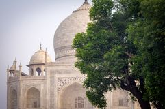Historic Indian Taj Mahal India. Very much one of the main tourist attractions and points of interest in the area Stock Images