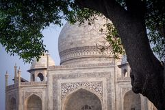 Historic Indian Taj Mahal India. Very much one of the main tourist attractions and points of interest in the area Stock Photos