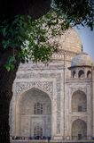 Historic Indian Taj Mahal India. Very much one of the main tourist attractions and points of interest in the area Stock Photo