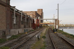 Historic industrial building stock image