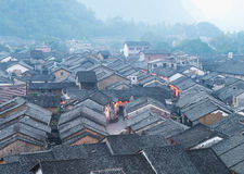 Historic interest in china guangxi. Huangyao stock photo