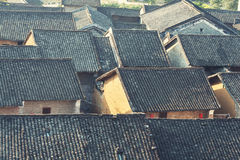 Historic interest in china guangxi. Huangyao royalty free stock images