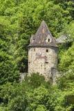 The historic internal curtain wall tower in Horb on the Neckar Royalty Free Stock Photos