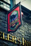 Historic Irish Pub Stock Photo