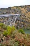 Historic iron bridge Stock Photo