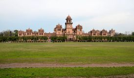 Historic Islamia College University main building Peshawar Pakistan Stock Image