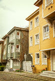 Historic Istanbul houses Royalty Free Stock Images