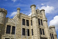Historic Jail in Joliet Royalty Free Stock Photos