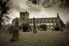 Historic Jedburgh Abbey Scotland Stock Images