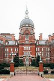 The historic Johns Hopkins Hospital Building in Baltimore, Maryland.  royalty free stock image