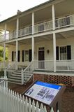 Historic Jones House in New Bern. NEW BERN - OCTOBER 4, 2017: The historic Jones House was used by the Union army as a jail that held Confederate sympathizers Stock Photos