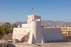 Historic Kalba fort in the Emirate of Fujairah Royalty Free Stock Image