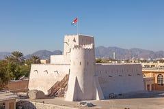 Historic Kalba fort in the Emirate of Fujairah Royalty Free Stock Image