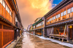 Historic Kanazawa, Japan Stock Images