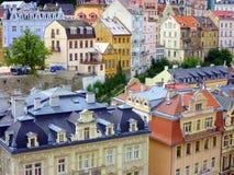 Historic Karlovy Vary, Czech Republic Stock Photography