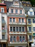 Historic Karlovy Vary, Czech Republic Royalty Free Stock Photo