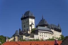 Historic Karlštejn Castle Stock Photos