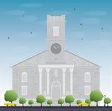 Historic Kawaiahao Church, Honolulu's oldest Christian church Royalty Free Stock Image