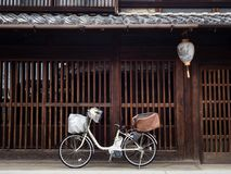 Historic Kawaramachi street in Gifu city, Japan Stock Photo
