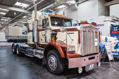 Historic Kenworth truck T 800 from 1983 Royalty Free Stock Images