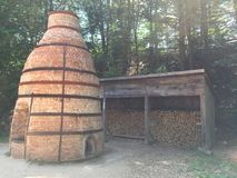 Historic Kiln recreated Royalty Free Stock Photography