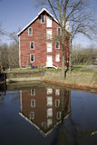 Historic Kirby Mill,. Circa 1778, Medford, New Jersey Stock Images