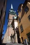 Historic Klara Church in Stockholm, Sweden Stock Photo