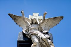 La Recoleta Cemetery. Buenos Aires, Argentina stock image