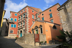 Historic Labin in Istria, Croatia. Historic Labin in Istria, old town, Croatia stock images