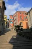 Historic Labin in Istria, Croatia. Historic Labin in Istria, a town on a hilltop, Croatia royalty free stock photos