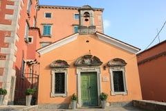 Historic Labin in Istria, Croatia. Historic Labin in Istria, a town on a hilltop, Croatia royalty free stock images