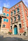 Historic Labin in Istria, Croatia. Historic Labin in Istria, a town on a hilltop, Croatia stock image