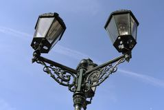 Historic lamp Stock Photos