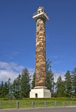 Historic Landmark of Astoria Column Stock Photos