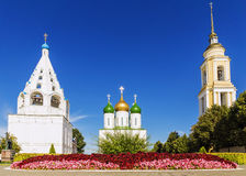 Historic landmarks of Kolomna, Russia.  royalty free stock photo