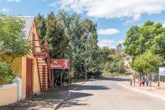 Historic Latrobe Coach House in Genadendal, built 1827 Stock Image