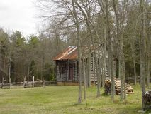 Historic Latta Plantation, North Carolina Stock Image