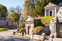 Historic Laurel Hill Cemetery Philadelphia PA Royalty Free Stock Photos